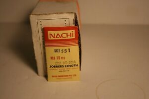 Nachi 501A Jobbers Length Twist Wire Drill #23 Drill 10-PACK 0545464 No 23