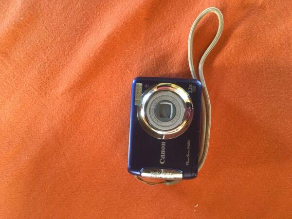 Canon Powershot A480 10.0 Appareil Photo Numérique Bleu Acheter Maintenant