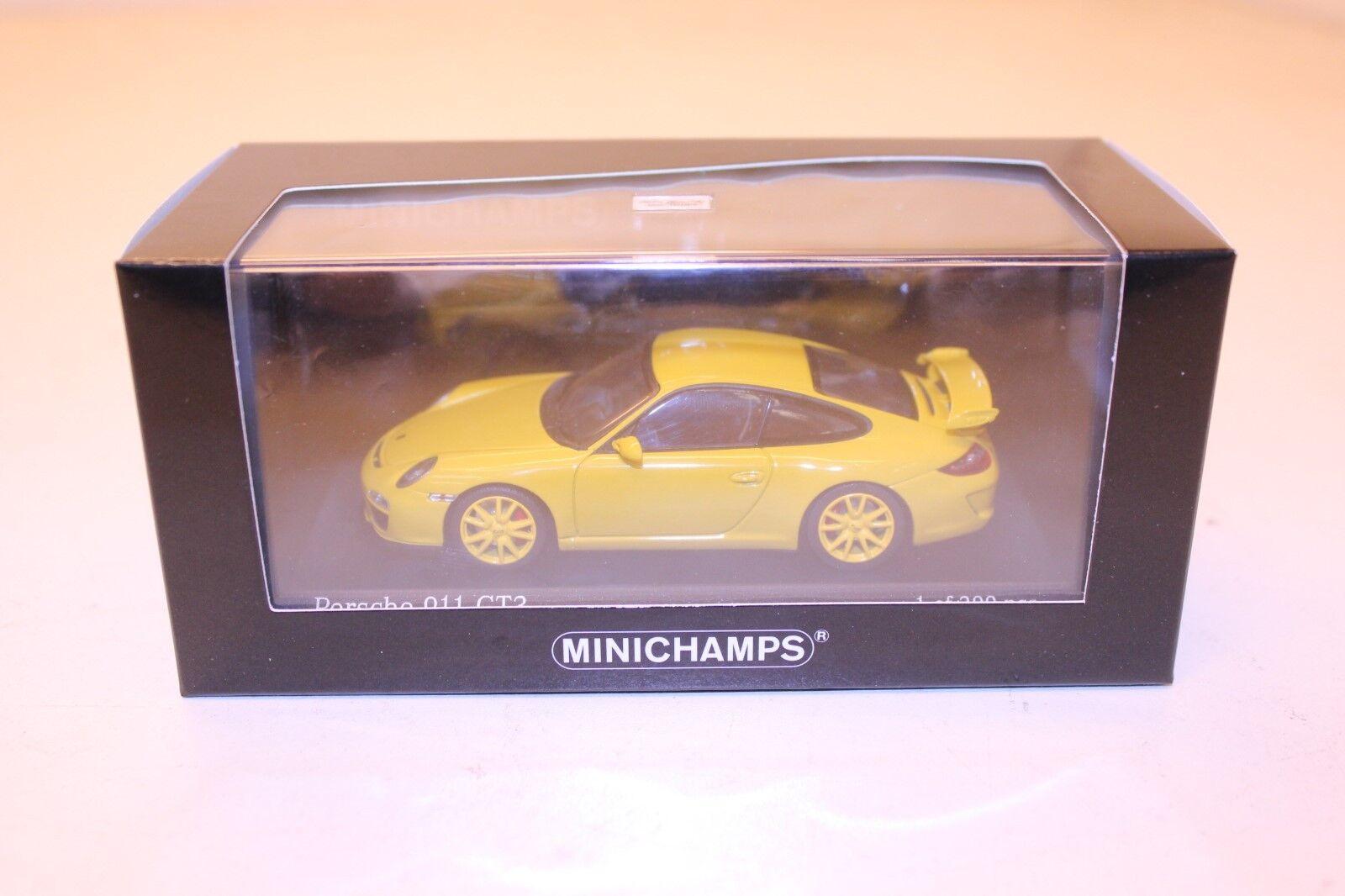 Minichamps Porsche 911 GT3 997 II - 2009 Velocidad giallo 1 43 1 399 400068022