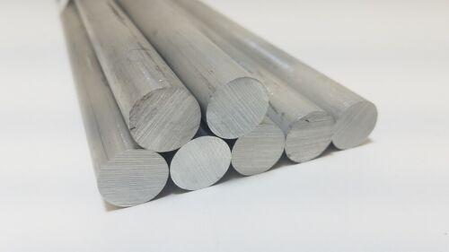 "Lathe 6061 Aluminum Round Rod Bar 12/"" long 5//8/"" diameter Solid"