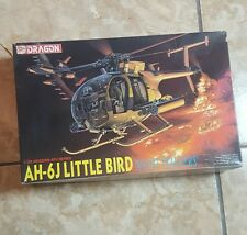 Dragon 1:35 AH-6J Little Bird Night Stalker Helicopter Plastic Model Kit #3527U