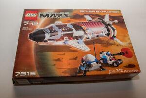 LEGO-7315-Life-on-Mars-Solar-Explorer-with-Box-amp-Instructions