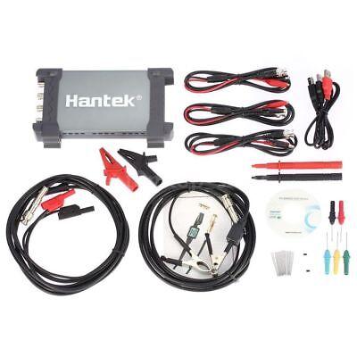 Hantek 6204BE USB PC Digital Oscilloscope 200MHz 4CH 1Gsa//s Auto Diagnostic Tool
