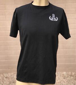 Epic-MMA-Gear-DryAthlon-Mens-Shirt-Size-Medium-Black-Kickboxing-Fight-Workout