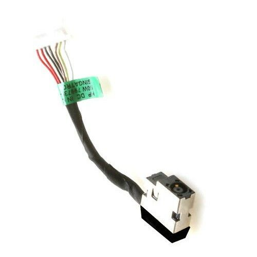 DC POWER JACK CABLE HP 15-BP018CA 15-BP108CA 15-BP051NR 15-BP152NR 15-BP100 PORT