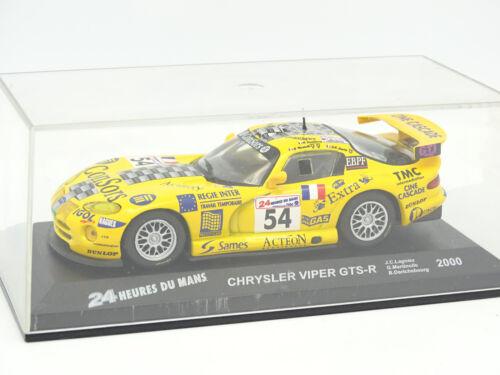 Ixo Presse Collection Le Mans 1//43 Chrysler Viper GTS R 2000