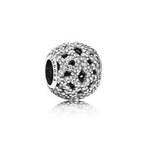 Pandora-Charm-791284CZ-schimmernde-glaenzende-Spitze-Glitzer