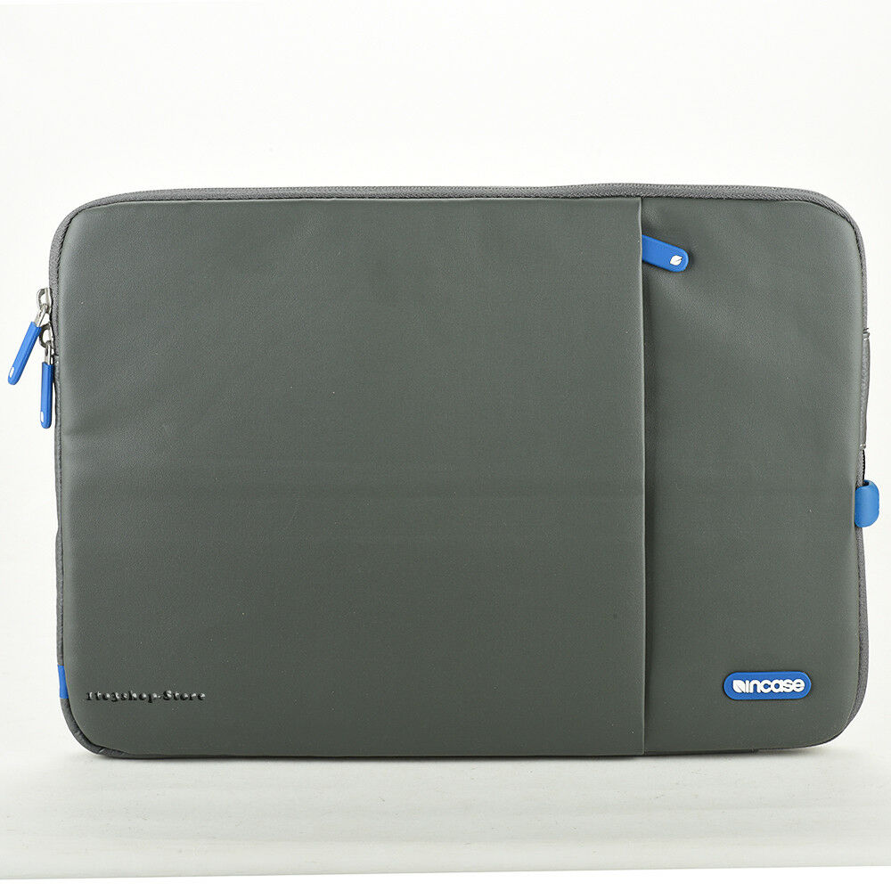 abb581dbcd Details about Incase Protective Sleeve Deluxe Leather Pouch Case for MacBook  Pro 15