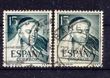 España _ 1953 mié. nº 1018 escritor Molina
