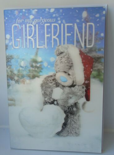 Me To You Xmas Cards for Girlfriend Fiancee including 3d cards
