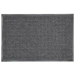 Door Mat Charcoal Grey Gray Rubber