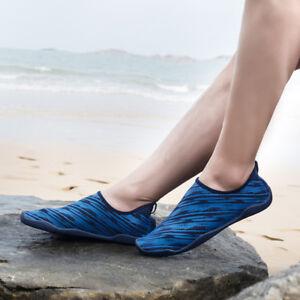 3666a6dab18f Men Water Shoes Aqua Shoes Aqua Socks Slip On Barefoot Quick-Dry ...