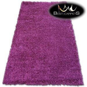Détails sur Très Doux Moderne Tapis Shaggy Galaxy Violet Bonne Qualité  Moelleux Pas Cher
