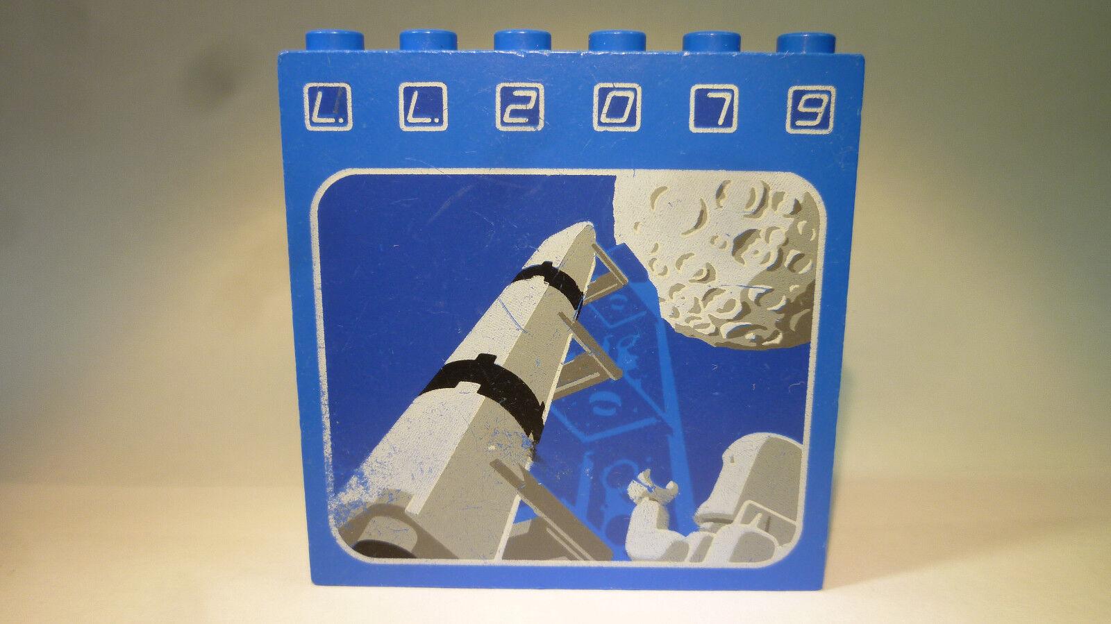 4 x LEGO® STEINE 1 x 6 x 5 NOPPEN PANEL WANDELEMENT WAND 59349 WEISS