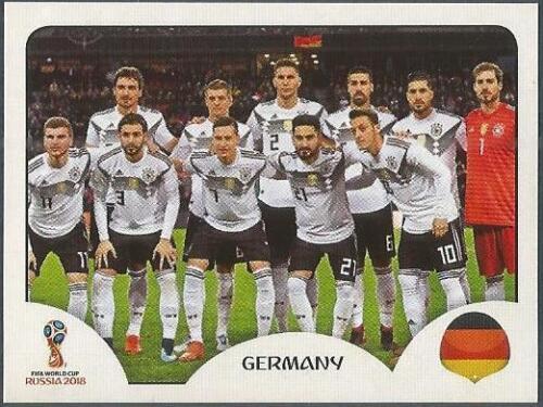 #433-GERMANY TEAM PHOTO PANINI FIFA WORLD CUP-2018 RUSSIA