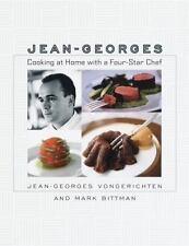 cookbook master chef Jean-Georges Vongerichten COOKING AT HOME 4 STAR