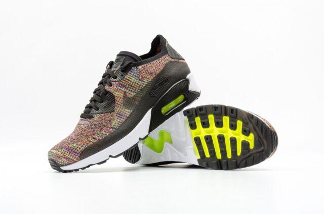 0fe7961ab9ddb Nike Air Max 90 Ultra 2.0 Flyknit Multi Color Bright Crimson 875943-002 Size  11