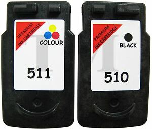 PG-510-amp-CL-511-Black-amp-Colour-Multipack-Ink-to-fit-Canon-Pixma-MP495-Printers