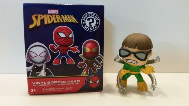 Mystery Mini's Bobble heads Marvel Spider-man Doctor Octopus loose