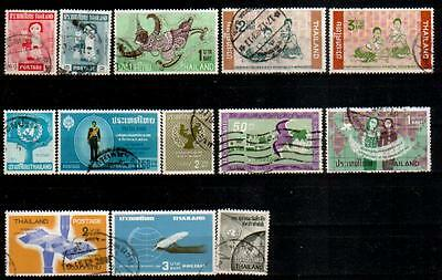 Initiative Thailand Lot Aus 1963-1964 O (5256