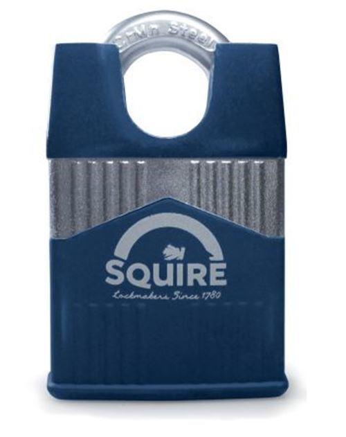 Squire 45mm Candado acero de LLave de Acero
