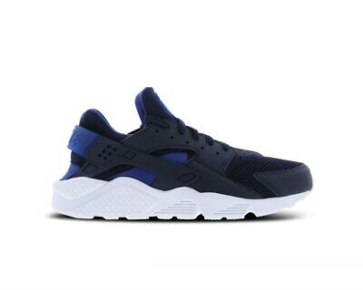 Original Nike Air Huarache Obsidian Blue White Trainers Sneakers 318429 420 | eBay
