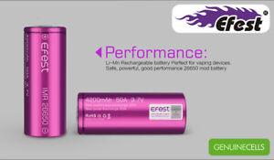 2-x-Genuine-EFEST-IMR-26650-HIGH-DRAIN-50A-AMP-Li-MN-Battery-4200mAh-Purple