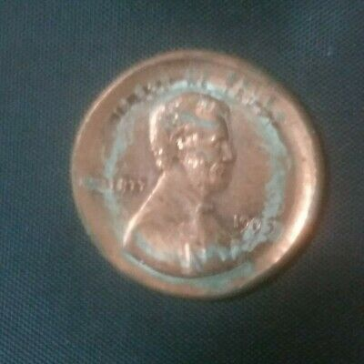 1993 LARGE BROADSTRUCK ERROR Lincoln Cent CH BU NICKEL ...