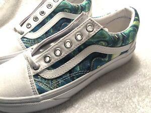 c20616bbed Image is loading Vans-Shoes-Custom-Art-Womans-Size-5
