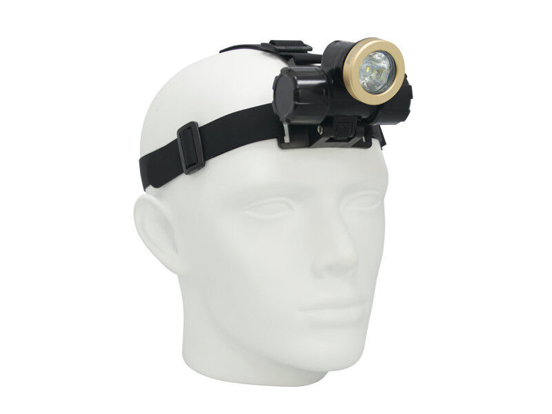 Bigbluee SCUBA Diving Headlamp - Narrow Beam LED 450 Lumens SCUBA Light