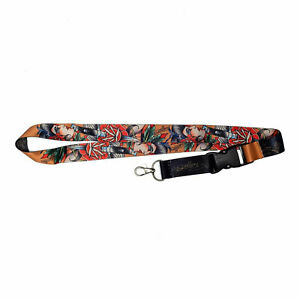 Sullen Unisex Cholita Lanyard Black/Red/Orange Accessories Tattooed Skul Weed