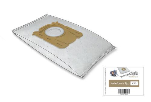 10 Sacchetto per aspirapolvere per AEG Performer ECO asp7130 ASP 7130