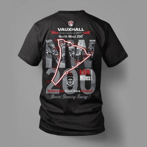 Officiel 2017 North West 200 Festival Imprimé T Shirt