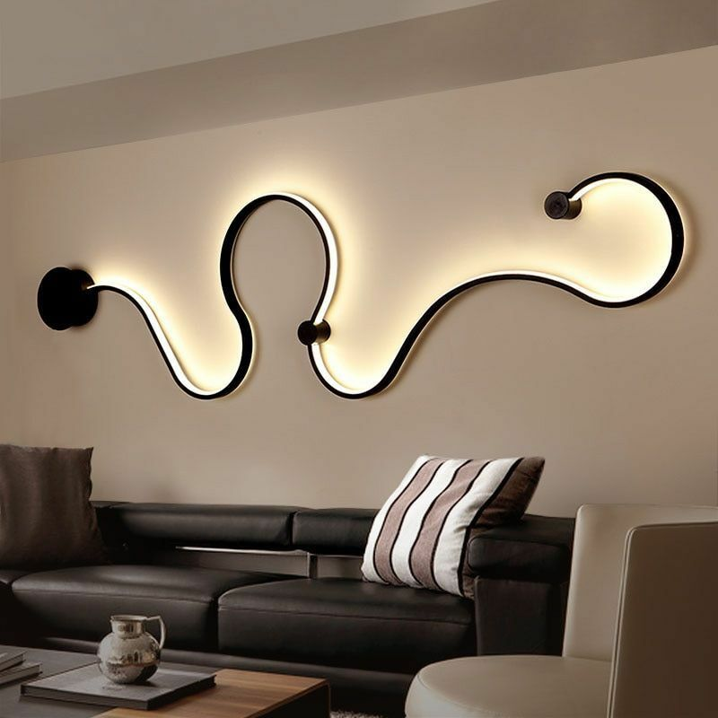 Modern Bedroom LED Light Reading Head Bed Warm Weiß Lamp Office Home Decor Book