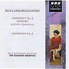 "Rutland Boughton - : Symphony No. 2 ""Dierdre""; Symphony No. 3 (1996)"