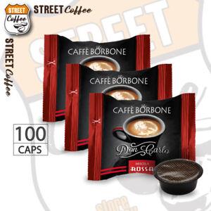 100-Capsule-Caffe-Borbone-Don-Carlo-Miscela-Rossa-compatibili-a-Modo-Mio