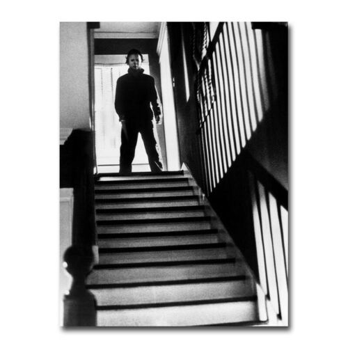 Michael Myers On The Steps 2 Horror Movie Canvas Silk Poster Wall Art Print