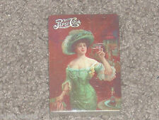 Vintage PEPSI COLA Pretty Lady 1990s Playing Cards Set - New & Sealed - Poker