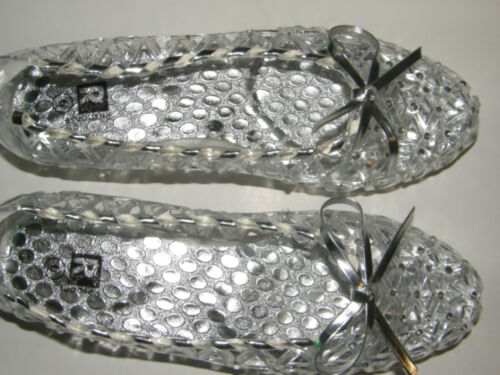 Jelly Stone Sandals Womens Shoes Clear Size 6 to 12 New