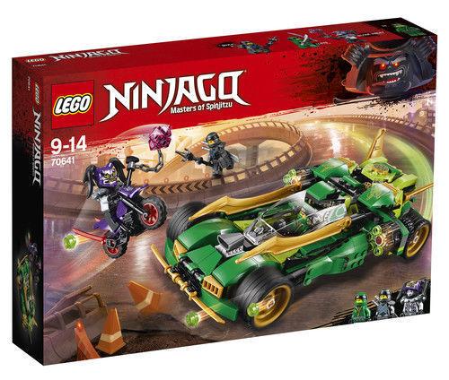 LEGO NINJAGO (Ninja Nightcrawler 2018)