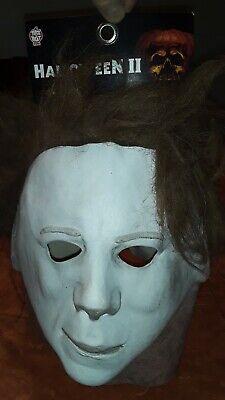 Halloween 2 II Blood Tears Michael Myers Trick or Treat Studios Latex Mask NWT