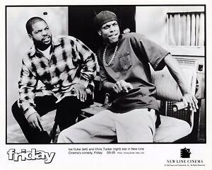 FRIDAY-Ice-Cube-Chris-Tucker-8x10-B-amp-W-Publicity-Photo-Comedy-Movie-Memorabilia