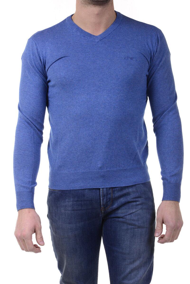Armani Jeans AJ Sweater REGULAR FIT Man Blau 8N6M826M29Z 3506 Sz.S MAKE OFFER