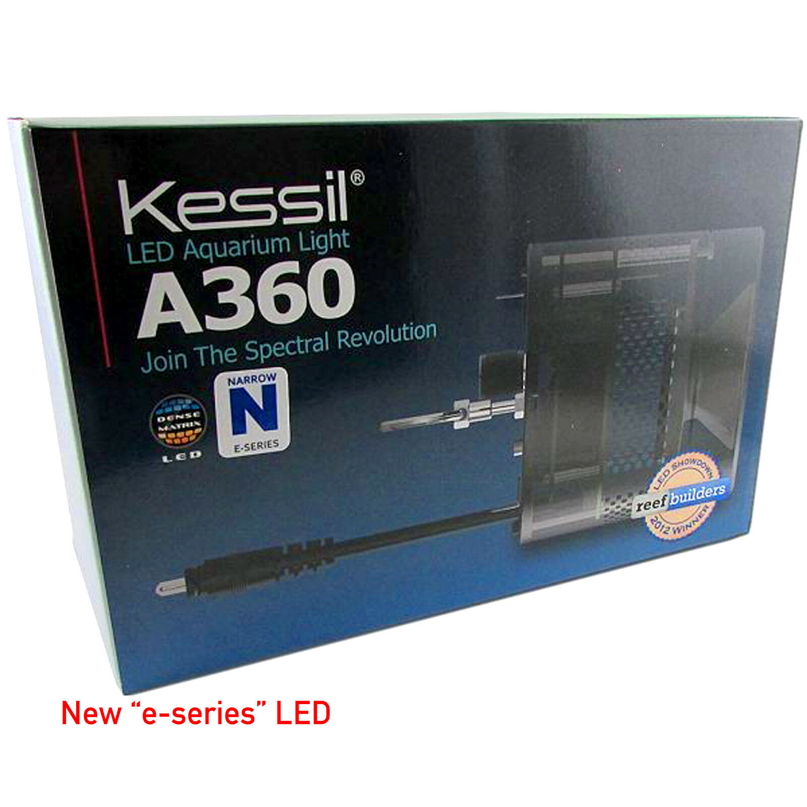 Kessil Reef LED A360Ne Tuna Blue 90 Watt Full Warranty Reef Aquarium LED Light