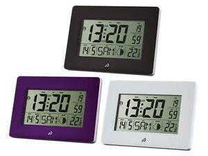 SUPERIOR-RADIO-DESPERTADOR-LCD-Display-2-Por-Separado-de-Horario-Fase-Termometro