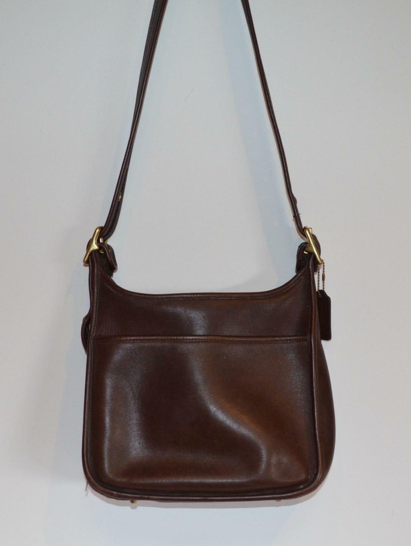 VINTAGE 60s  Bonnie Cashin era Brown Leather Pre … - image 1