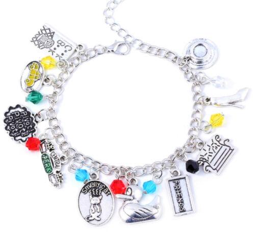 Friends charm bracelet TV Show Merchandise Charm Bracelet USA Ship!