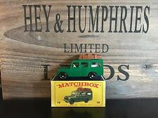 matchbox regular wheels no.12C-1.Rare Green Version mint E-2 Box excellent 1965