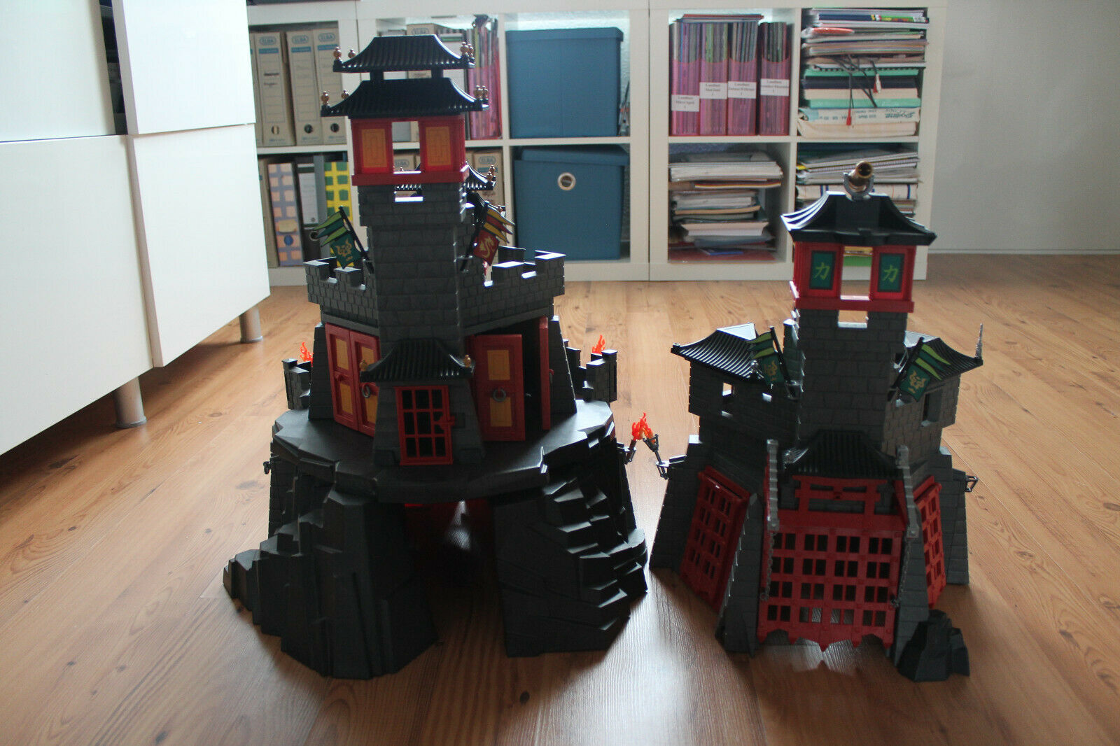 Playmobil 5479 Große Asia-Drachenburg + 5480 Geheime Drachenfestung