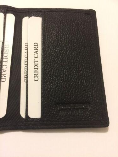 GENUINE COW HIDE LEATHER SLIM CARD WALLET 04 CARDS 888